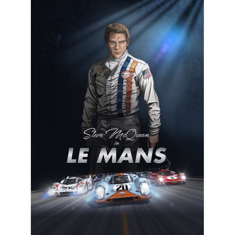 Steve Mcqueen In Le Mans French Edition Librairie Motors Mania