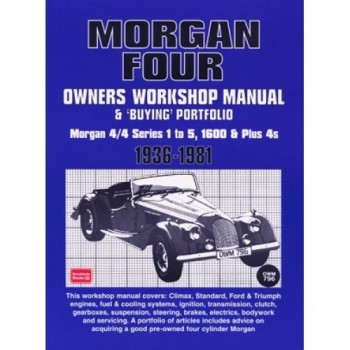 Morgan Four Owners Workshop Manual & Buying Portfolio 1936-1981