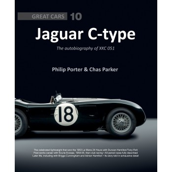 Jaguar C-type The autobiography of XKC 051