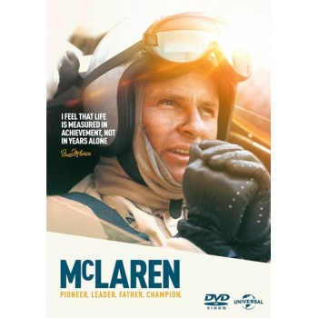 McLaren : Pioneer, Leader, Father, Champion (89 Mins) DVD