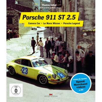 Porsche 911 ST 2.5 - Camera Car - Le Mans Winner - Porsche Legend