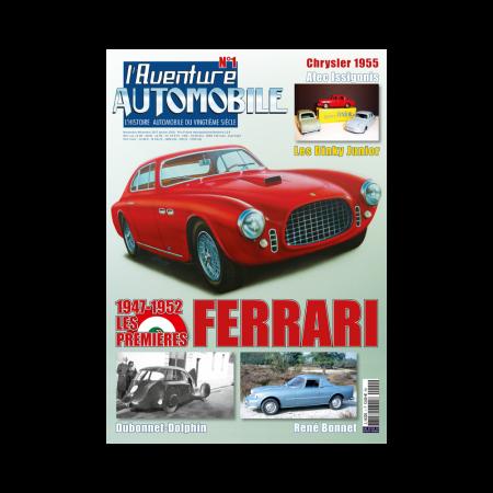 L'Aventure Automobile n°1  numéro de novembre-décembre 2017 - janvier 2018