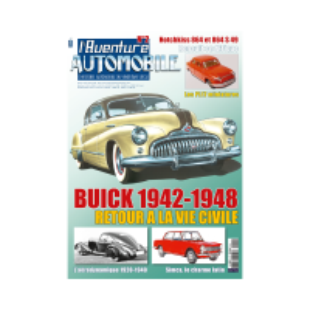 L'Aventure Automobile N° 2, février-avril 2018