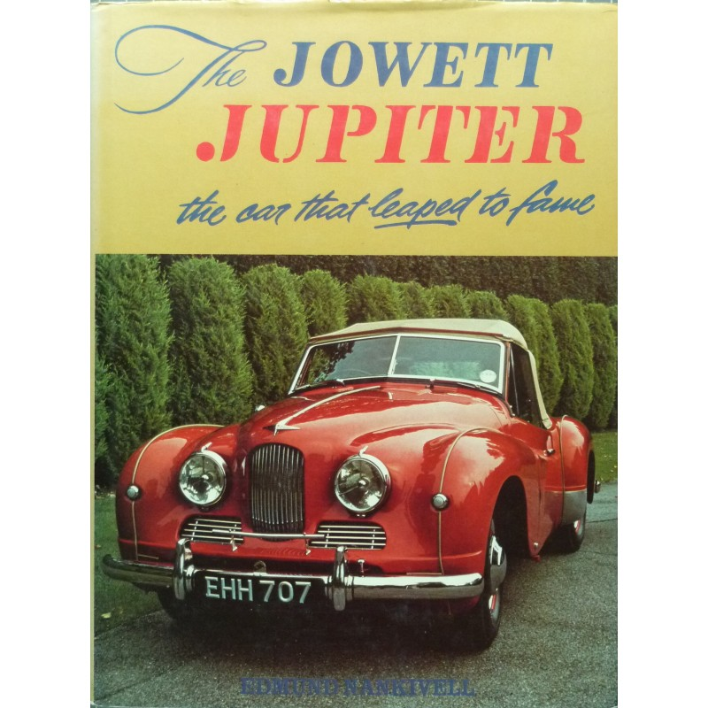 The Jowett Jupiter the car that leaped to fame