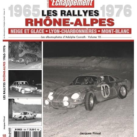 Les Rallyes Rhône-Alpes 1965-1976 - Hors série Echappement n°10 - Conrath