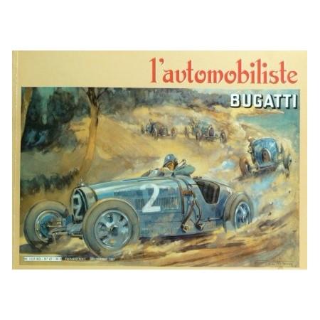 L'automobiliste N° 67 : Bugatti