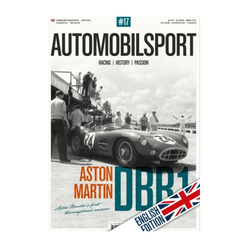 AUTOMOBILSPORT 17 (03/2018) - English edition - incl. poster