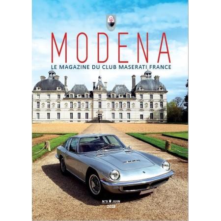 Modena N° 9 Juin 2018 - Magazine du Club Maserati France