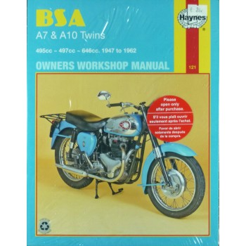 BSA A7 & A10 Twins owners workshop manual