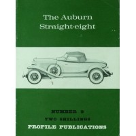 The Auburn  Streight-Eight (Profile N°9)