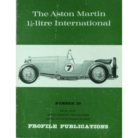 The Aston Martin 1 1/2Litre International(Profile N°33)