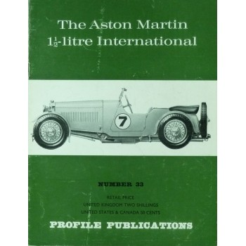 The Aston Martin 1 1/2Litre International(Profile N°33