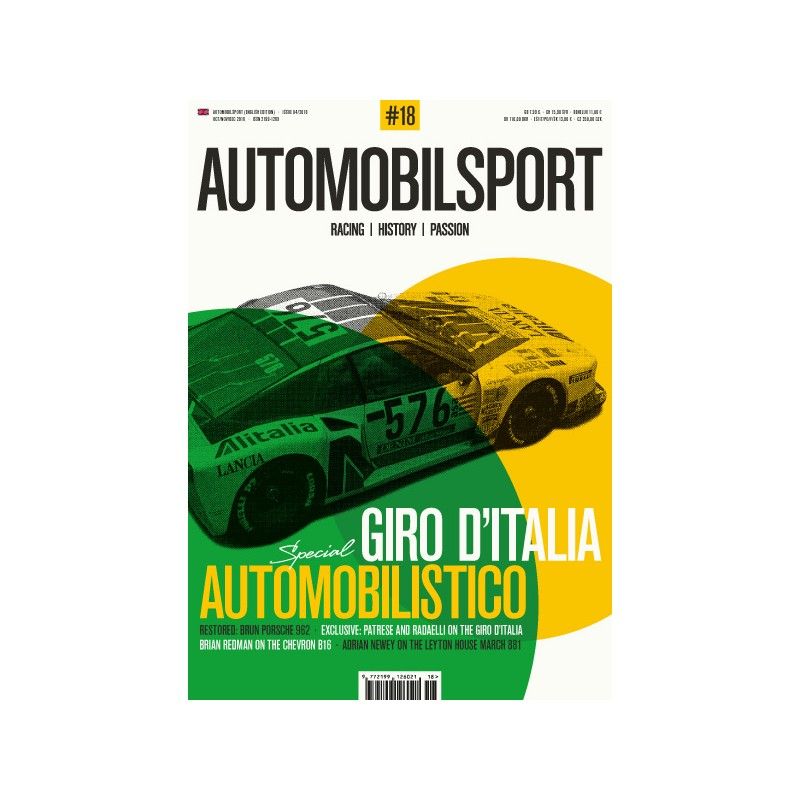 AUTOMOBILSPORT N° 10 ENGLISH EDITION OCTOBRE NOVEMBRE DECEMBRE 2016