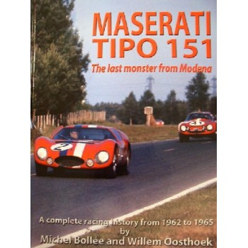 Maserati tipo 151 the last monster from Modena