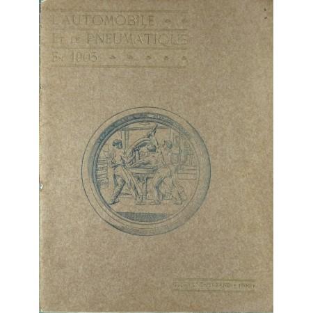 L'automobile et le pneumatique en 1905 - Plaquette Michelin 1906