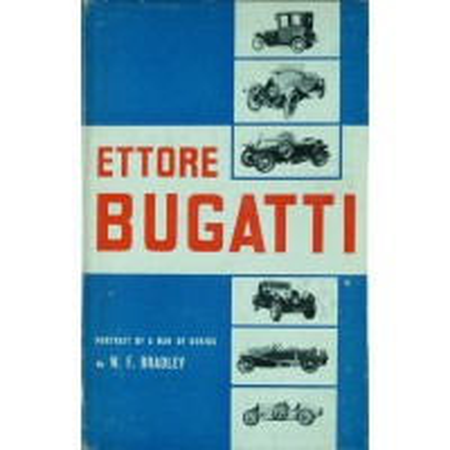 Ettore Bugatti portrait of a man of genius