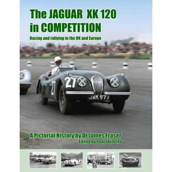 JAGUAR XK 120 IN COMPETITION