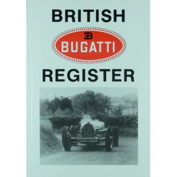 British Bugatti Register 1980 (1ère édition)
