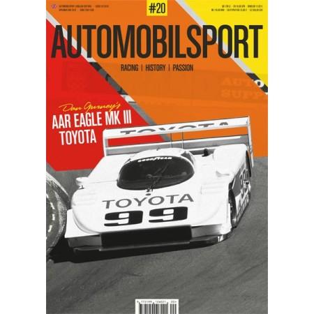 AUTOMOBILSPORT N° 19 ENGLISH EDITION 1st Quarter 2019