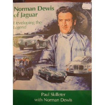 Norman Dewis of Jaguar Developping the legend