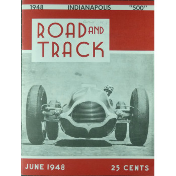 Road & Track indianapolis 1948