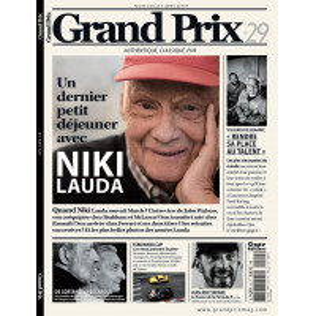 GRAND PRIX MAGAZINE N° 29