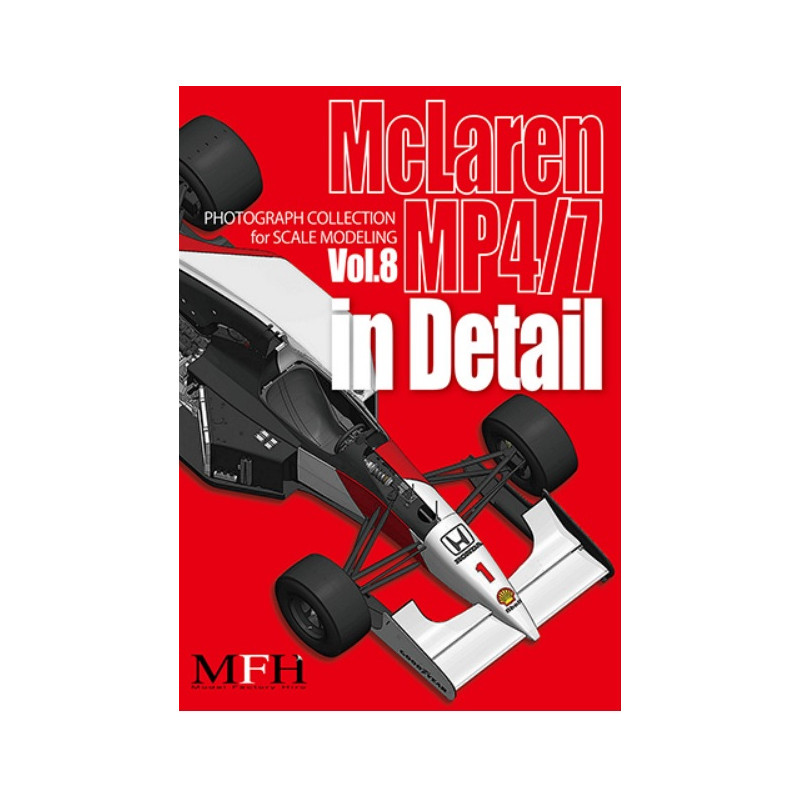 """PHOTOGRAPH COLLECTION Vol.8 """"McLaren MP4/7 in Detail"""""""