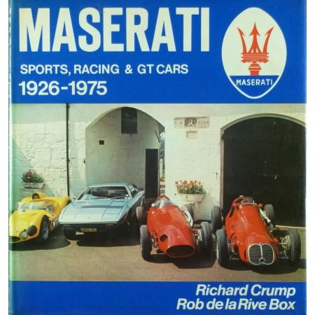 Maserati sports racing & GT cars 1926-1975
