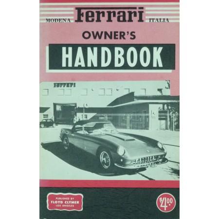 Ferrari Owner's handbook