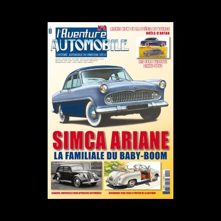 L'Aventure Automobile n°9 Novembre - Decembre 2019 - Janvier 2020