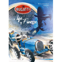 Bugatti A life of finesse - Comic (English edition)