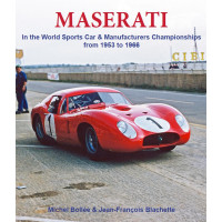 Maserati in the World sports car & manufacturers championships from 1953 to 1966