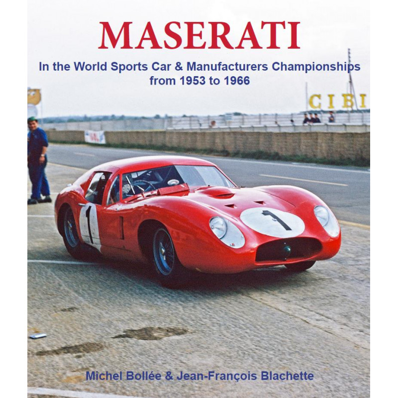 Maserati in the World sports car & manufacturers workships from 1953 to 1966