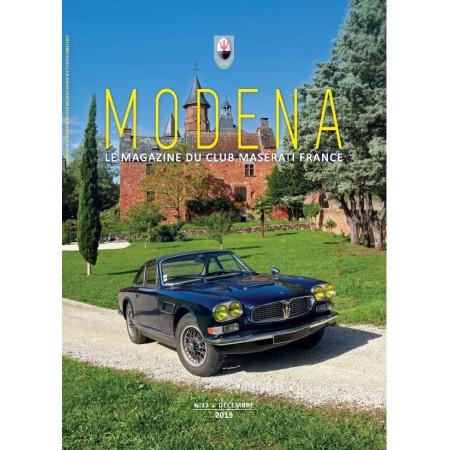 Modena n°12 Décembre 2019 - Magazine du Club Maserati France
