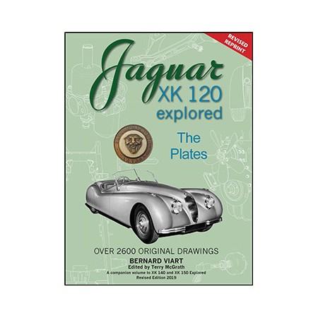 Jaguar XK 120 explored  (revised reprint)