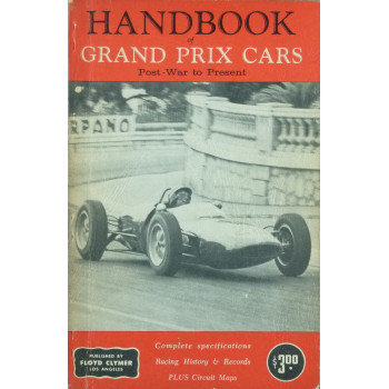 Handbook of Grand Prix Cars Post-War to present
