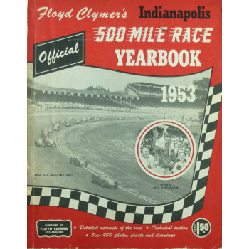 500 MILE INDIANAPOLIS RACE HISTORY 1953