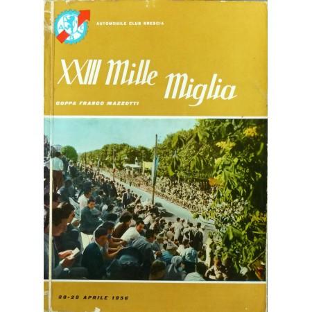 PROGRAMME XXIIIÈ MILLE MIGLIA 1956