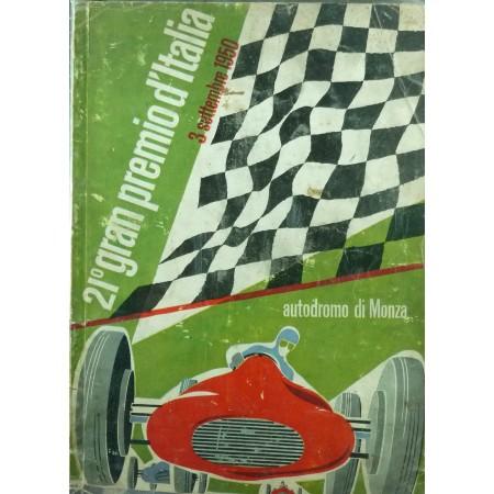 Programma Gran Premio d'Italia 1950