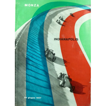 Programme Monza Indianapolis 1957