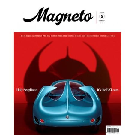 MAGNETO N° 5 SPRING 2020 BAT CARS