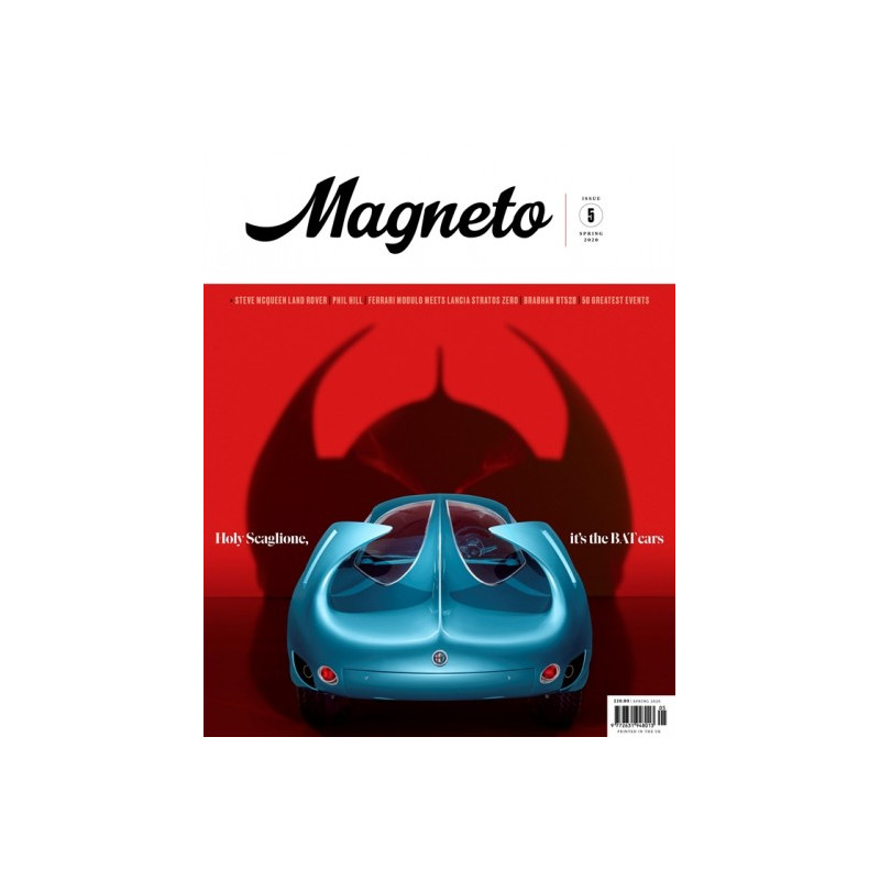 MAGNETO N° 4 WINTER 2019 THE ECCLESTONE CARS