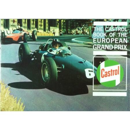 The Castrol book of the european Grand Prix