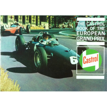 The Castrol book of the european Grand Prix