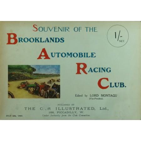 Souvenir of the Brooklands Automobile Racing Club