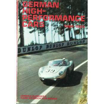 German High-Performance Cars 1894-1965