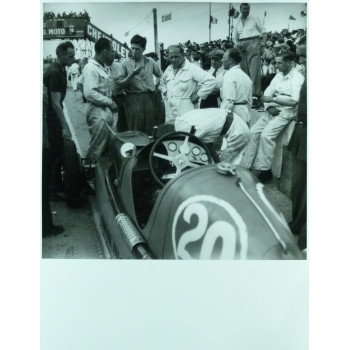 Photo Grand Prix d'Albi 1946 Maserati - Jean DIEUZAIDE.