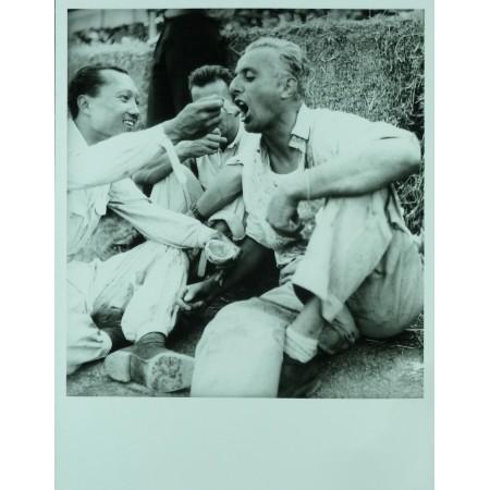 Photo Grand Prix d'Albi 1948 BIRA VILLORESI - Jean DIEUZAIDE.