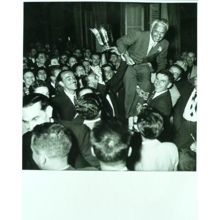 PHOTO GRAND PRIX D'ALBI 1948 GIGI VILLORESI - JEAN DIEUZAIDE.