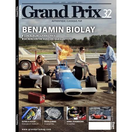 GRAND PRIX MAGAZINE N° 32 (juillet août septembre 2020)